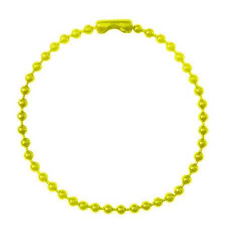 カラーボールチェーン黄色