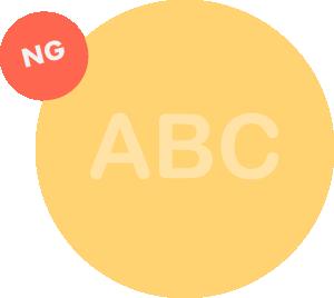 白要素の画像データを「半透明」にするとプリント表現が正しくできません。