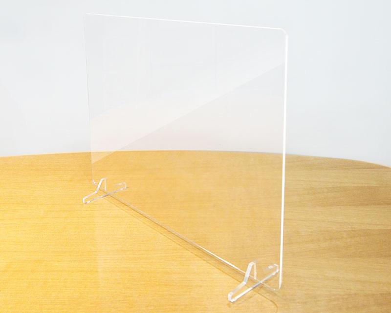 飛沫感染防止アクリルボード・パーテション(スタンド付)